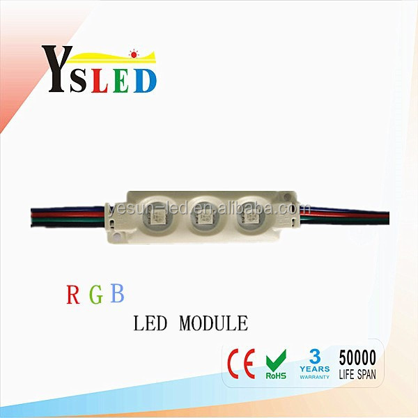 wholesale 5050RGB SMD led module IP65 waterproof led strip for commercial lighting