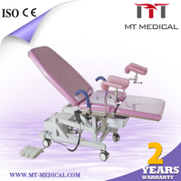 Comfortable and durable electric table obstetrics hospital bed for hospital equipment
