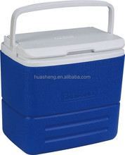 15.9 quart FDA approved insulated outdoor cooler, plastic ice box cooler