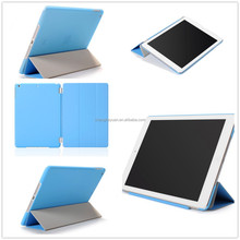 luxury leather smart cover stand with magnet flip case for ipad 2 3 4 6