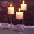 Tall Stemmed Glass Candle Holder For Wedding