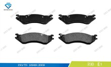 Brake pad for FORD Truck D702 5080556AA 24755