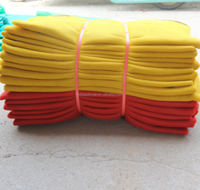 yellow safety net building scaffolding net