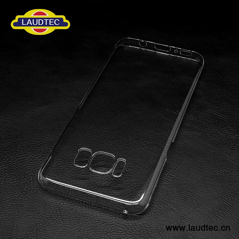 clear PC cover for samsung S8 transparent case