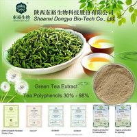 Organic Green tea extract with active ingredients EGCG Tea Polyphenol 20-98%