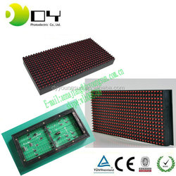 Red LED Display Module Panel Window Sign Shop Sign P10 32X16 Matrix Programmable LED pixel pitch led display board