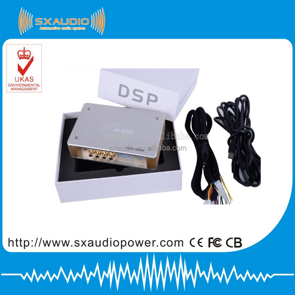 Cheaper and good quality Car Audio 4ch in 6ch out DSP Processor with 31-Band Equalizer digital dsp audio processor