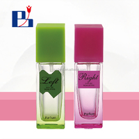 18ml glass perfume bottle with pump spray