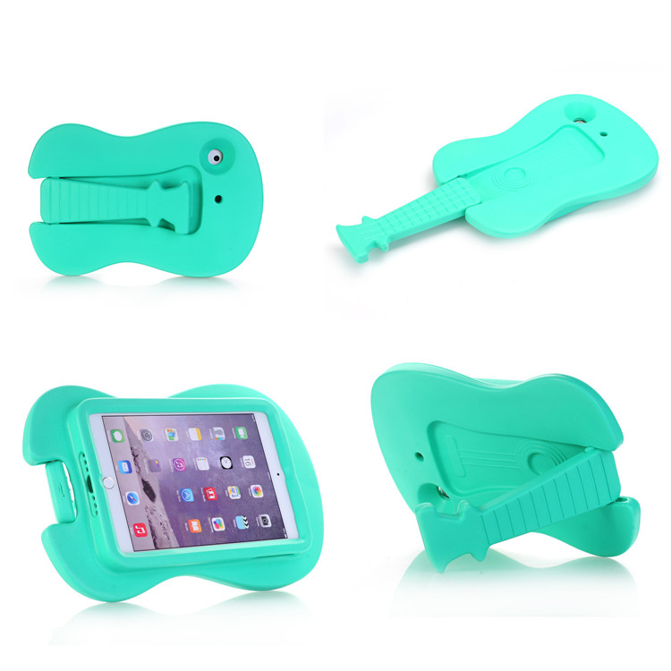 Kids Mini Guitar Stand Tablets Shockproof Case for ipad mini 1 2 3 4 EVA Foam Tablets Case