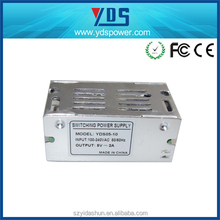 9 years professional manufacturer CE ROHS AC/DC 10W Battery Charger Regulated Power Supply