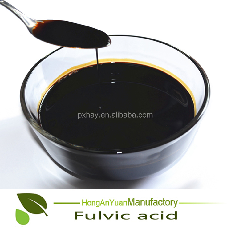 Manufacturer price super HAY humic fulvic acid fertilizer powder/liquid agriculture application bio fertilizer