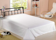 Innovative products for sell white cotton hotel bedding set Plain satin bedding set