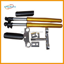 2017 Hot sale yellow dirt bike suspension front fork for 735mm