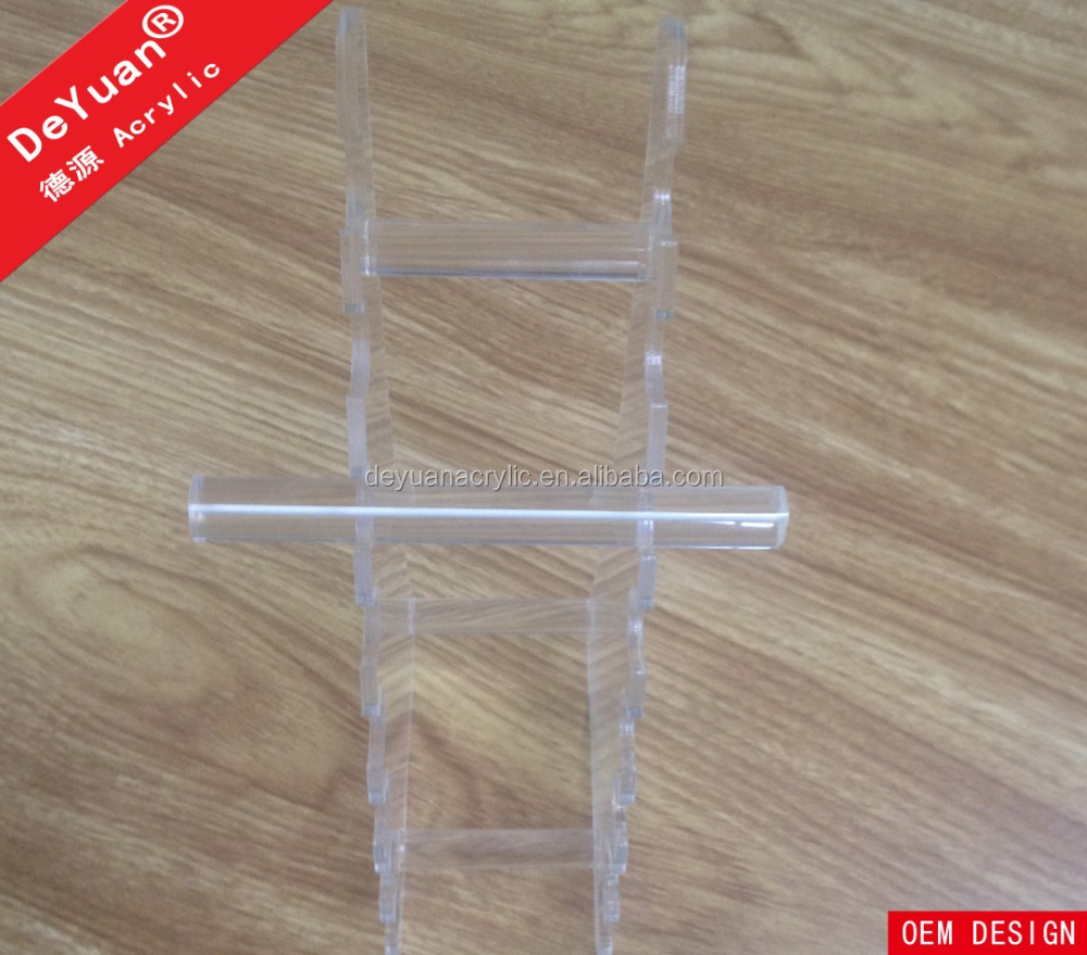 Transparent lucite acrylic electronic cigarette display case