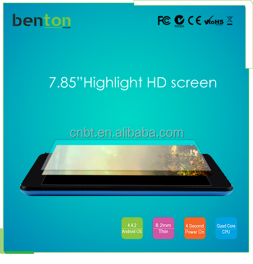 "New Dual core Android 4.2 1024*768 screen 7.85"" notebook tablet pc"