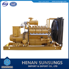 High efficiency bio gas power generator for biogas plant