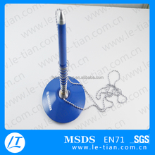 Factory Desk Pen with Chain, Table Ballpoint Pen, Stand Pen for Hotel