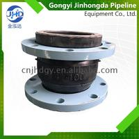 China best flexible coupling ductile iron pipe fitting ball rubber joints