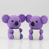 Creatived Koala Eraser Ink Remover For Paper Gift Erasers