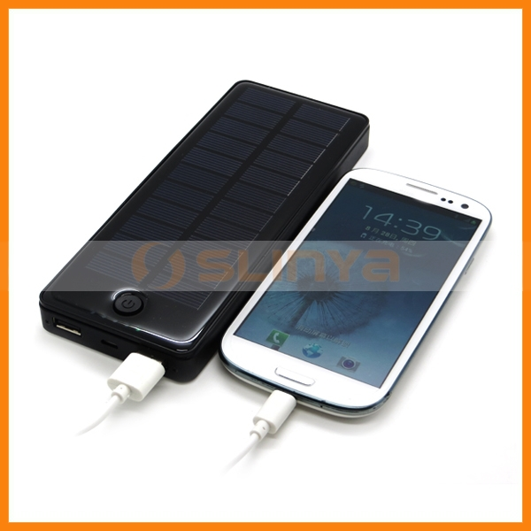 Universal Solar Charger 15000mah Portable Mobile Power Bank for iPhone