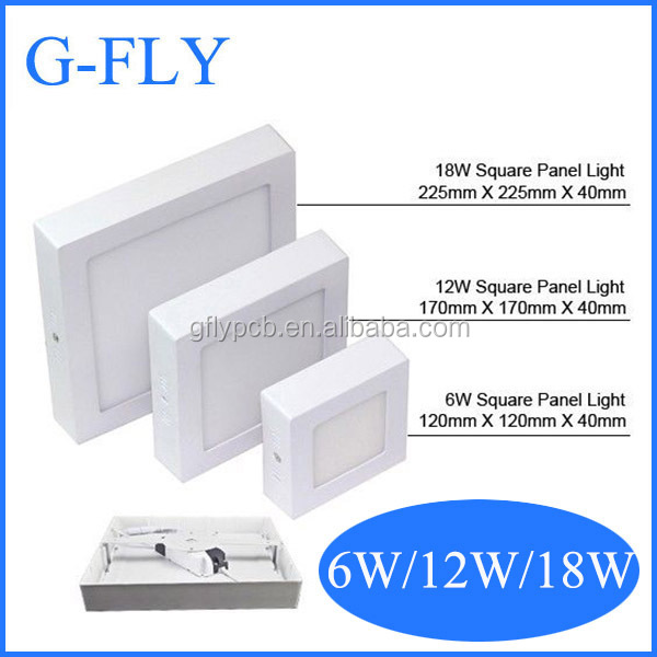 free sample high power surface mount ip44 led downlight 12w,harga lampu samsung 5630 9w led downlight dimmable