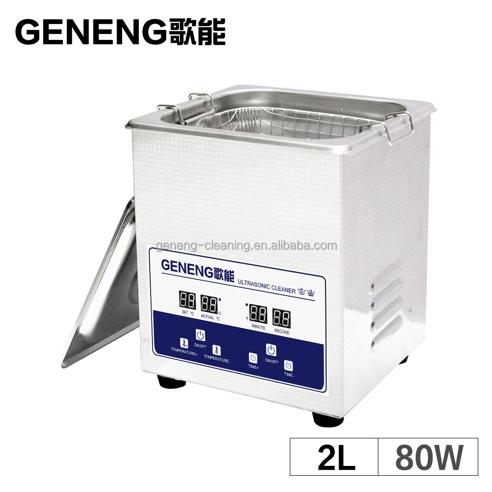 Ultrasonic Cleaning Machine 2L Bath Jewelry Washing Tanks Hardware Circuit Board Engine Automatic Car Parts Lab Equipment