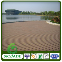 Natural Wood Appearance Weather Resistant Easy Installation WPC Board