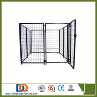 ISO9001 China supplier wholesale Heavy duty outdoor Extra large dog kennels runs