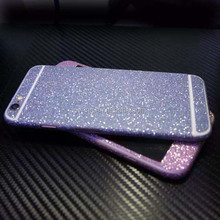Hot Sellig Full Body Glitter for iPhone 5 5S Shiny Phone Sticker Matte Screen Protector Sparkling Diamond Film