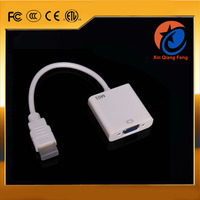 High quality high speed Gold Plated hdmi to vga adapter cable 1080P for mac