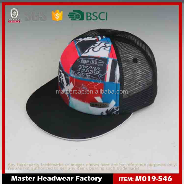 custom black trapper hat snapback hat