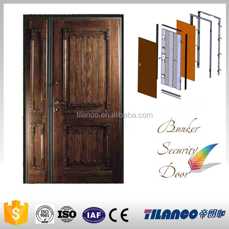 Good quality sell well chinese security doors