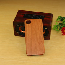 4 Corner Wooden Cover For Apple iPhone 8 Phone Case;wood mobile phone shell, red sandal blank wood phone