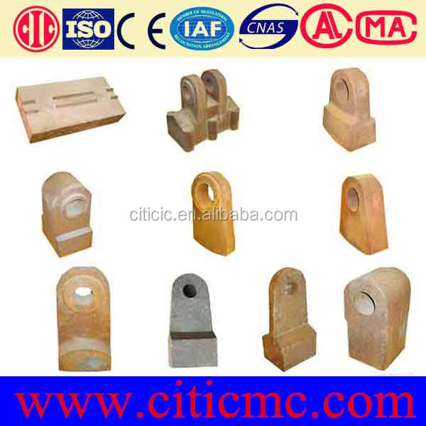 High efficiency fine crusher hammer metso spare parts