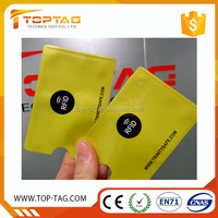 High Security ID Credit Card Sleeve