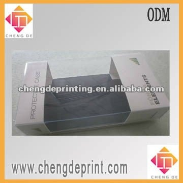 Iphone and ipad protective case plastic box packaging with panton color printed insert card
