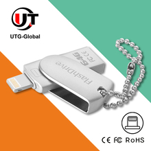 Factory Wholesales Price, Metal Housing OTG USB Flash Drives for iPhone, iPad