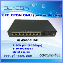 Optical Access network device 8FE GEPON ONU
