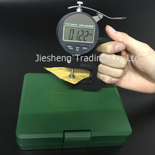 Portable measure instrument electronic digital thickness gauge meter 0-12.7mm 0.01mm 0.001mm