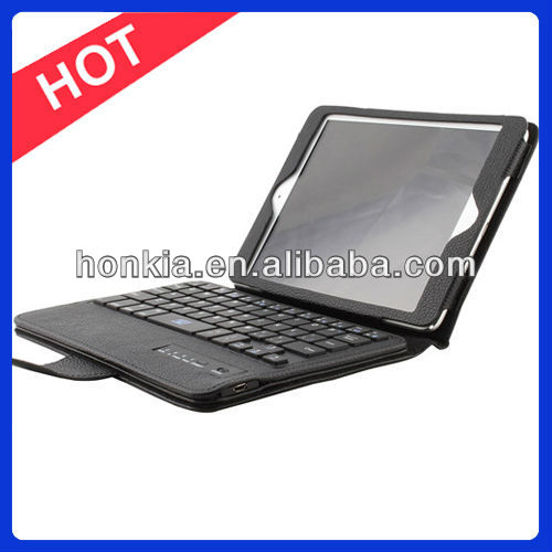 Detachable Bluetooth Keyboard foilo case for ipad mini