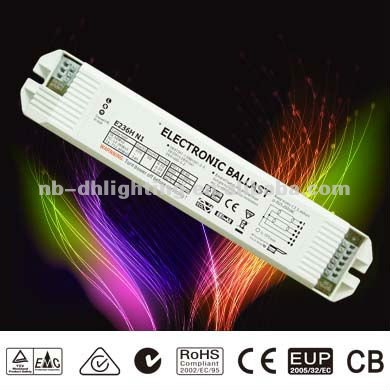 T8 36w plastic high quality electronic ballast