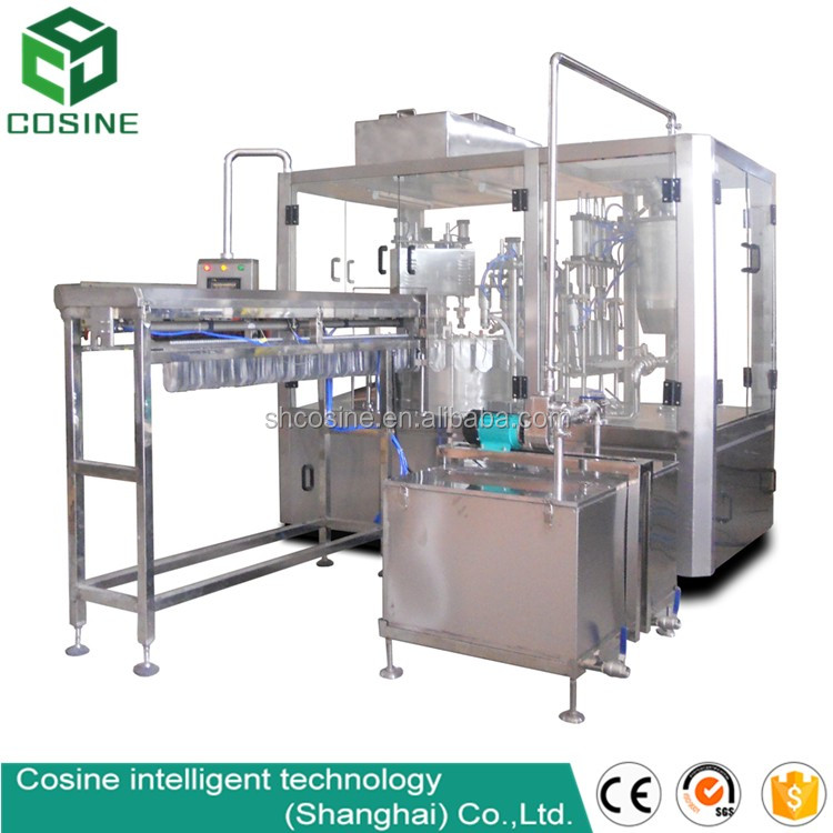 tofu /cream/ yogurt filling sealing packing machine