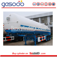 LNG Tank Truck For Liquid Natural