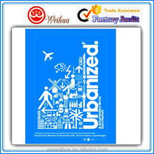 Outdoor Digital printed fancy Urbanized cartoon wall poster