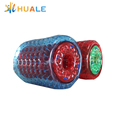 huale 2.5x2.1x1.7m inflatable water walking roller ,inflatable water rolling tube