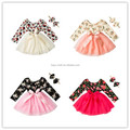 Lovely Chiffon Pettiskirts Top and Skirts Children Tutu Skirt Princess Dance Party Tulle Skirt