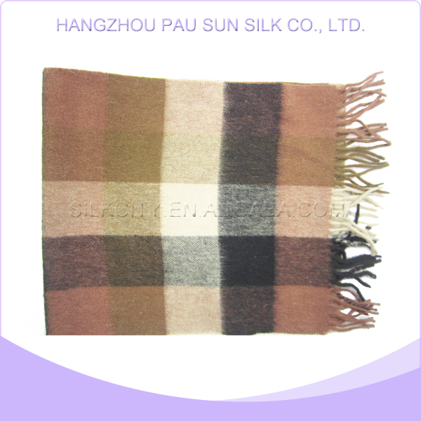 Superior quality various wool tartan scarf