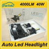 Super Bright high quality 12v car led lights high lumen car led bulb g5 led headlight