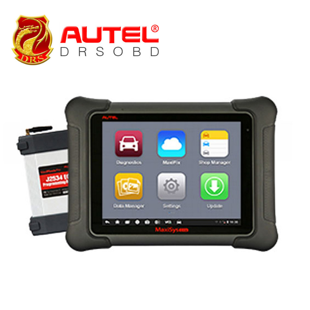 100% Original AUTEL MaxiSys Elite Support J2534 ECU Preprogramming Update From MS908P PRO Free Update On Autel Website