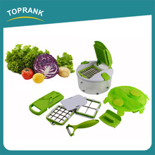 Mutil-function plastic chopped fruit vegetable peeler slicer cutter multi manual salad maker